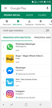 Como baixar aplicativos - Samsung Galaxy J6 - Passo 5