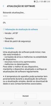 Como atualizar o software do seu aparelho - Samsung Galaxy J4+ - Passo 7