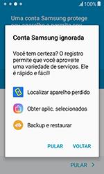 Como configurar pela primeira vez - Samsung Galaxy J1 - Passo 16