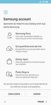 Como ativar seu aparelho - Samsung Galaxy S8 - Passo 13