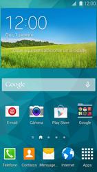 Como configurar seu celular para receber e enviar e-mails - Samsung Galaxy S5 - Passo 1