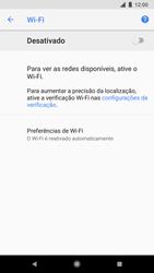 Como configurar uma rede Wi-Fi - Google Pixel 2 - Passo 5