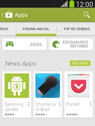 Como baixar aplicativos - Samsung Galaxy Pocket - Passo 5
