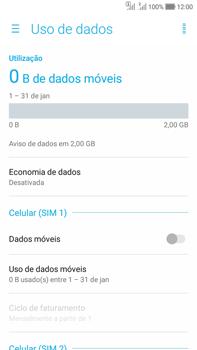 Como ativar e desativar uma rede de dados - Asus Zenfone Selfie - Passo 5