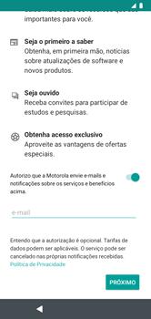 Como configurar pela primeira vez - Motorola Moto G7 Power - Passo 13