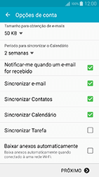Como configurar seu celular para receber e enviar e-mails - Samsung Galaxy A5 - Passo 9