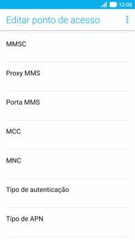 Como configurar a internet do seu aparelho (APN) - Asus ZenFone 3 - Passo 12