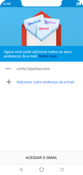 Como configurar seu celular para receber e enviar e-mails - Motorola One - Passo 13