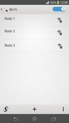 Como configurar uma rede Wi-Fi - Sony Xperia SP - Passo 5