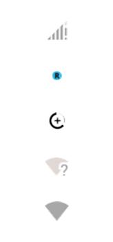 Explicação dos ícones - Motorola Moto G8 Power - Passo 3