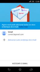 Como configurar seu celular para receber e enviar e-mails - Sony Xperia E4G - Passo 13