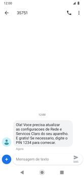 Como conectar à internet - Motorola Moto G7 Power - Passo 19