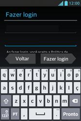 Como configurar seu celular para receber e enviar e-mails - LG Optimus L5 - Passo 7
