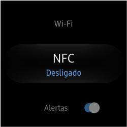 Como ativar a função NFC no Galaxy Watch - Samsung Galaxy Watch 3 - Passo 4