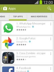 Como baixar aplicativos - Samsung Galaxy Pocket - Passo 8