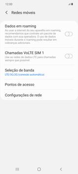 Como melhorar a velocidade da internet móvel - Samsung Galaxy Note 20 5G - Passo 8
