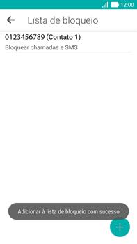 Como bloquear chamadas de um número específico - Asus ZenFone 3 - Passo 12