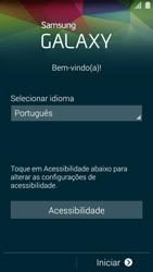 Como ativar seu aparelho - Samsung Galaxy S5 - Passo 3
