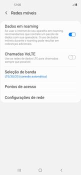 O celular não recebe chamadas - Samsung Galaxy A11 - Passo 7