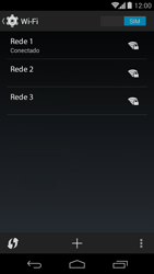 Como configurar uma rede Wi-Fi - Motorola Moto G (1ª Geração) - Passo 7