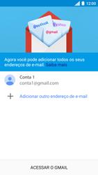Como configurar seu celular para receber e enviar e-mails - Motorola Moto C Plus - Passo 14