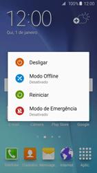 Como reiniciar o aparelho - Samsung Galaxy S6 - Passo 3