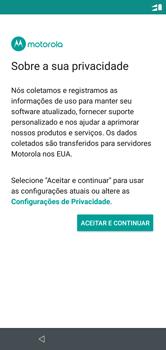 Como ativar seu aparelho - Motorola One - Passo 19