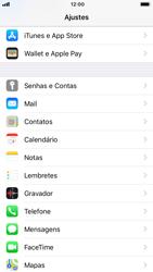 Como configurar seu celular para receber e enviar e-mails - Apple iPhone 7 - Passo 3