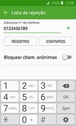 Como bloquear chamadas de um número específico - Samsung Galaxy J1 - Passo 10