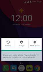 Como reiniciar o aparelho - Alcatel Pixi 4 - Passo 3