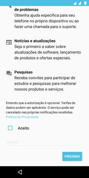 Como configurar pela primeira vez - Motorola Moto E5 - Passo 16