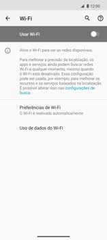Como configurar uma rede Wi-Fi - Motorola Edge - Passo 5