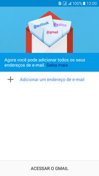 Como configurar seu celular para receber e enviar e-mails - Samsung Galaxy On 7 - Passo 7