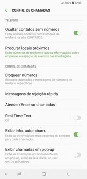 Como bloquear chamadas de um número específico - Samsung Galaxy S9 Plus - Passo 7