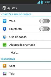 Como bloquear chamadas de um número específico - LG Optimus L5 - Passo 4