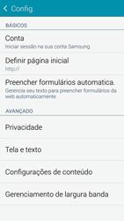 Como configurar a internet do seu aparelho (APN) - Samsung Galaxy S5 - Passo 24