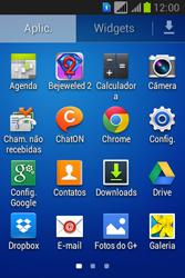 Como configurar a internet do seu aparelho (APN) - Samsung Galaxy Young - Passo 2