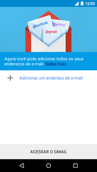 Como configurar seu celular para receber e enviar e-mails - Motorola Moto G (3ª Geração) - Passo 7