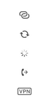 Explicação dos ícones - Apple iPhone 11 Pro - Passo 15