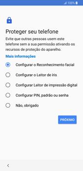 Como configurar pela primeira vez - Samsung Galaxy S9 - Passo 13