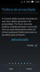 Como configurar pela primeira vez - Huawei Y3 - Passo 11