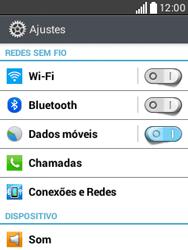 Como configurar a internet do seu aparelho (APN) - LG L20 - Passo 3