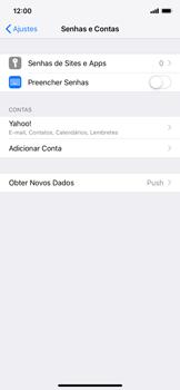 Como configurar seu celular para receber e enviar e-mails - Apple iPhone XR - Passo 9