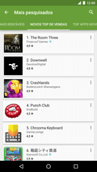 Como baixar aplicativos - LG Google Nexus 5X - Passo 10
