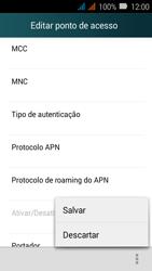 Como configurar a internet do seu aparelho (APN) - Huawei Y3 - Passo 17