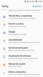 Como encontrar o número de IMEI do seu aparelho - Samsung Galaxy J2 Prime - Passo 3