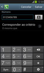 Como bloquear chamadas de um número específico - Samsung Galaxy S III Mini - Passo 12