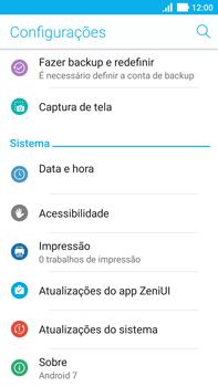 Como atualizar o software do seu aparelho - Asus ZenFone 3 - Passo 4