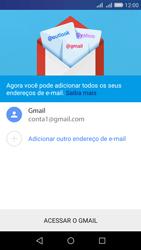 Como configurar seu celular para receber e enviar e-mails - Huawei Y6 - Passo 14