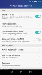 Como configurar a internet do seu aparelho (APN) - Huawei Y6 - Passo 5